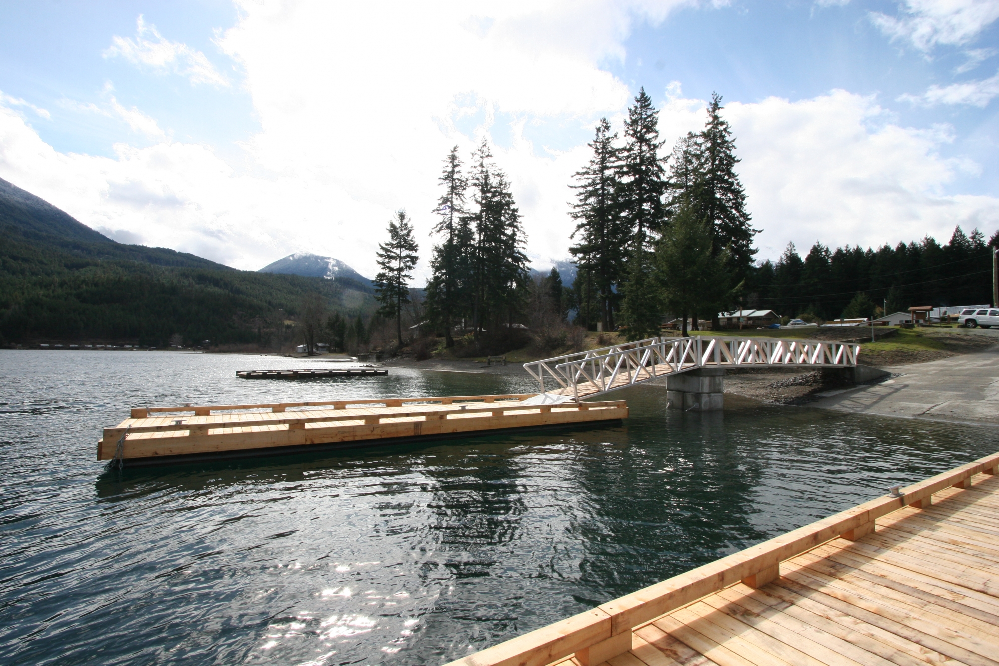 Anderson Lake Docks And Boat Launch Squamish Lillooet Regional District