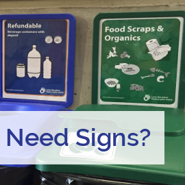 Need waste management signs?