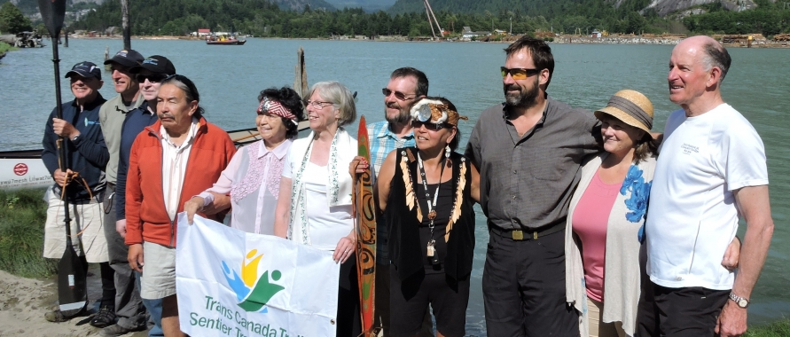 June 14 2015 Grand Opening of the Sea to Sky Marine Trail