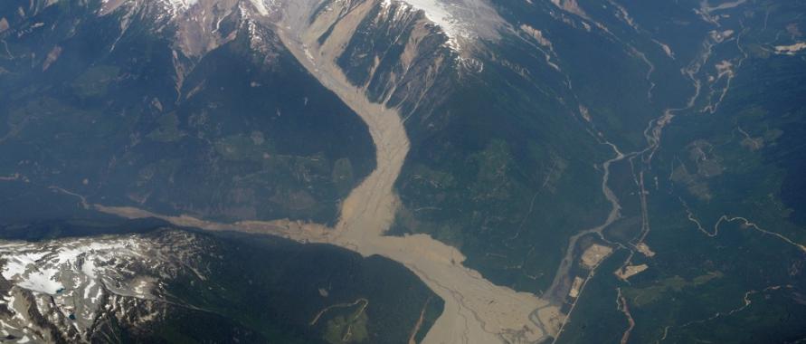Mount Meagre Landslide