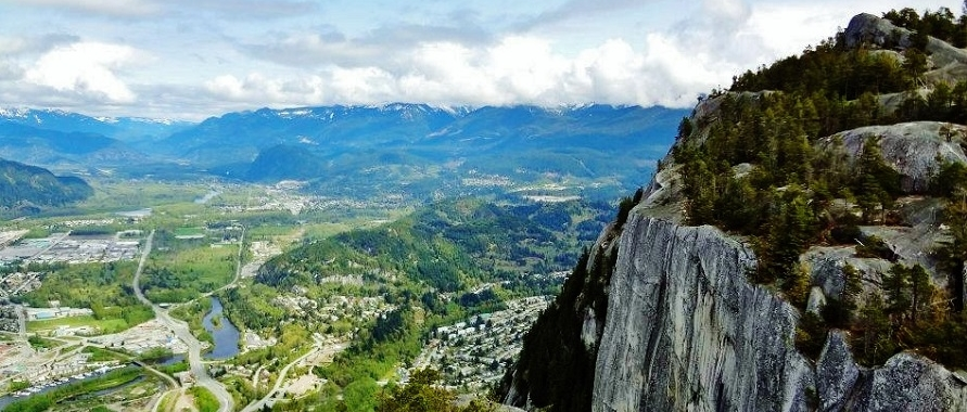 Squamish from the Chief, Squamish, BC