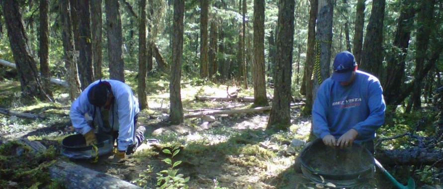 First Nations archeological site