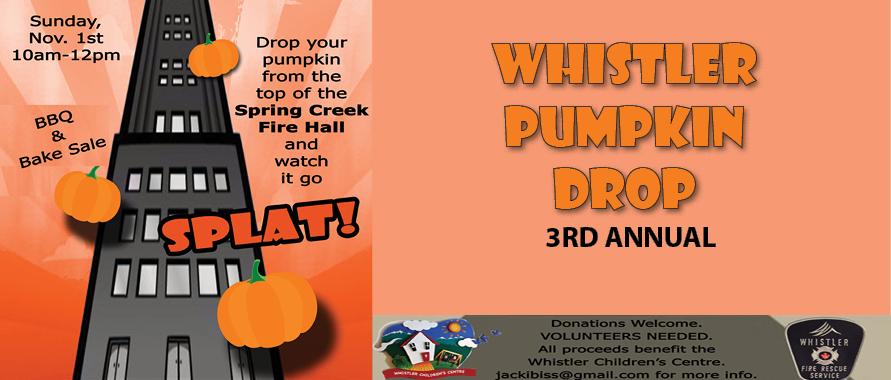 Whistler Pumpkin Drop
