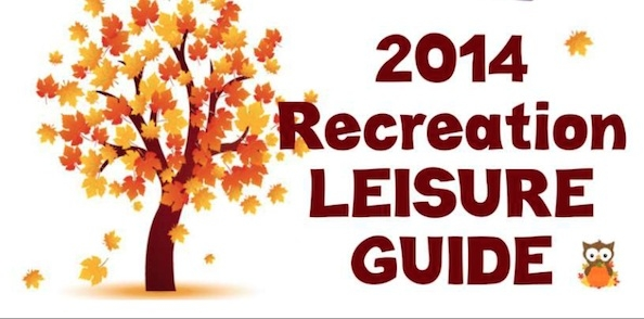 Pemberton and Area Recreation Leisure Guide Cover