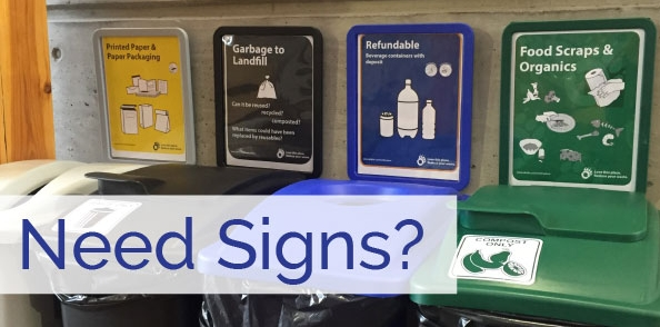 Need signs?