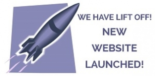 web launch graphic